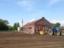 Stadslandbouw grond